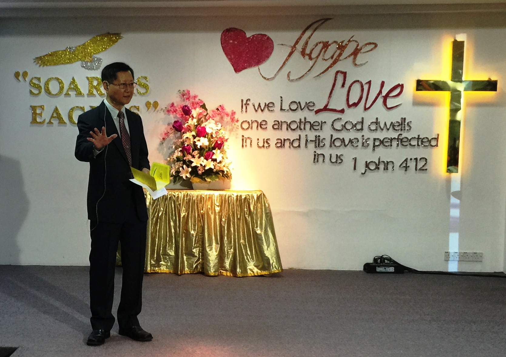 Dr Paul Chen, Senior Pastor.