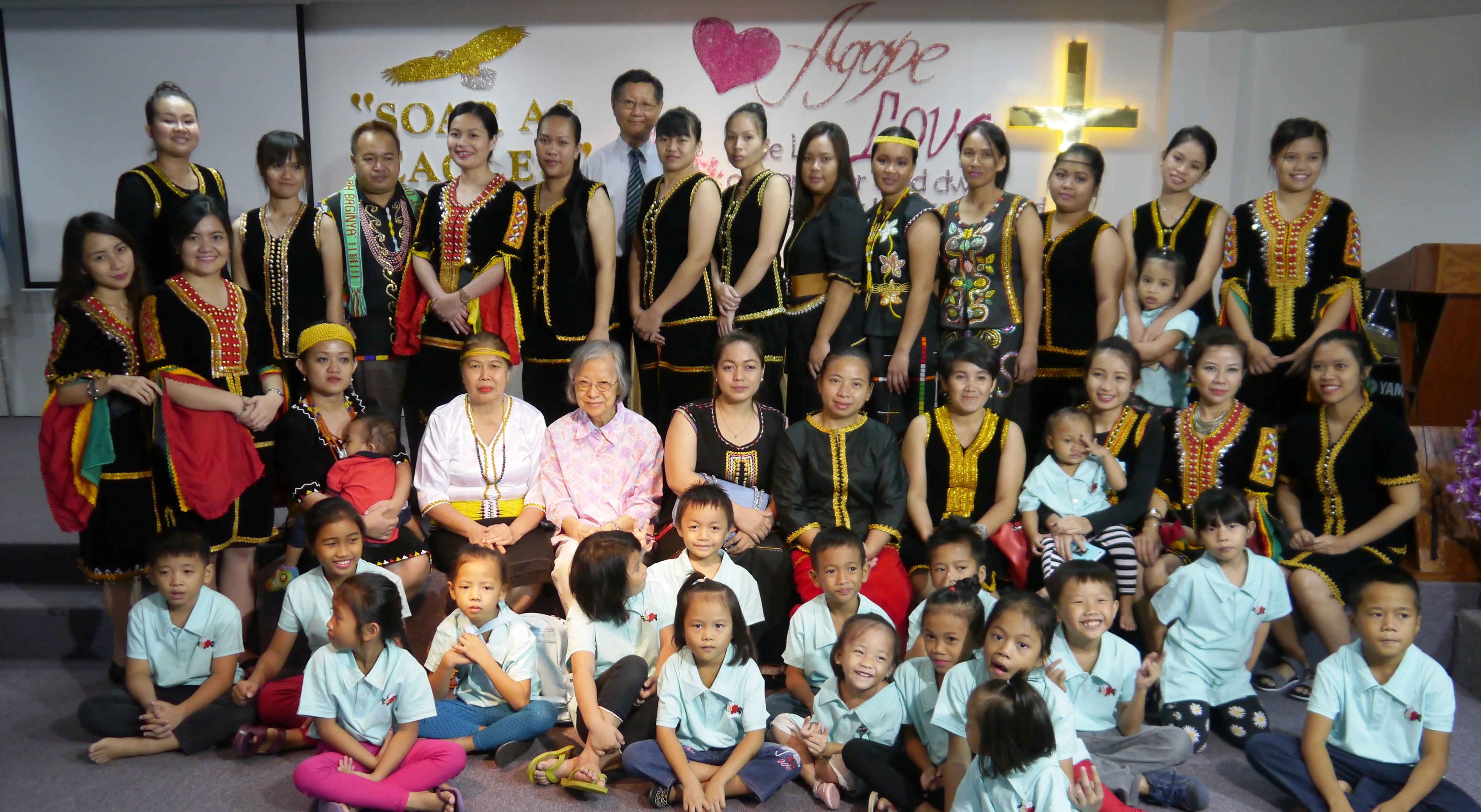 Women,, youth & children of the BM congregation